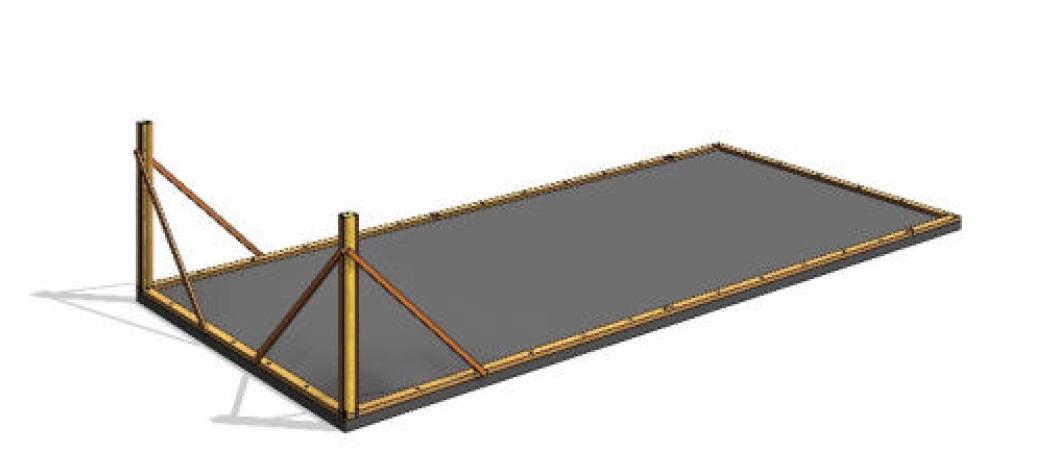 THREE systém postup výstavby krok1
