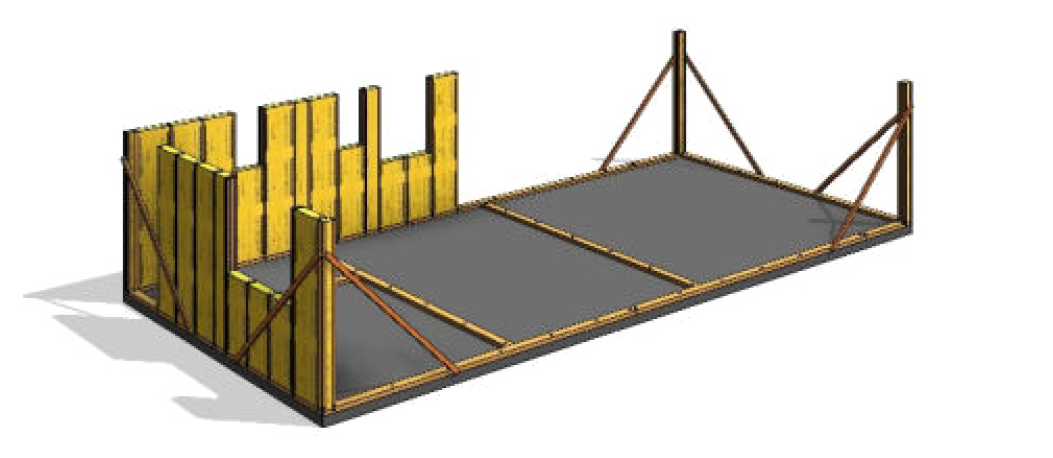 THREE systém postup výstavby krok2
