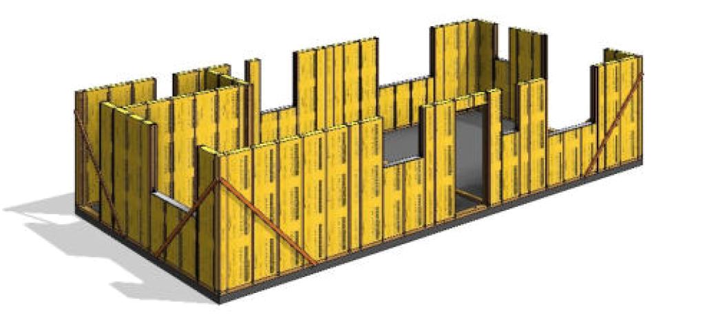 THREE systém postup výstavby krok3