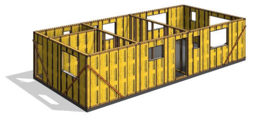 THREE systém postup výstavby krok4